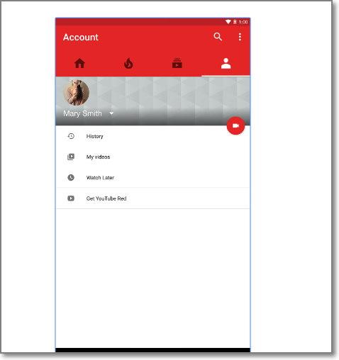 configuracion de youtube Android