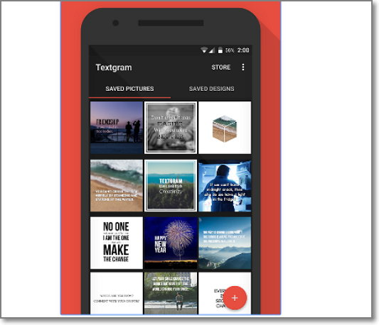 App para hacer imagenes con frases android