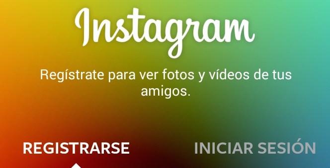 crear una cuenta de instagram