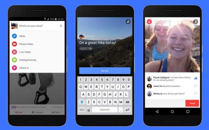 Transmitir videos en vivo en Facebook como se hace