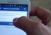 Abrir facebook desde el celular