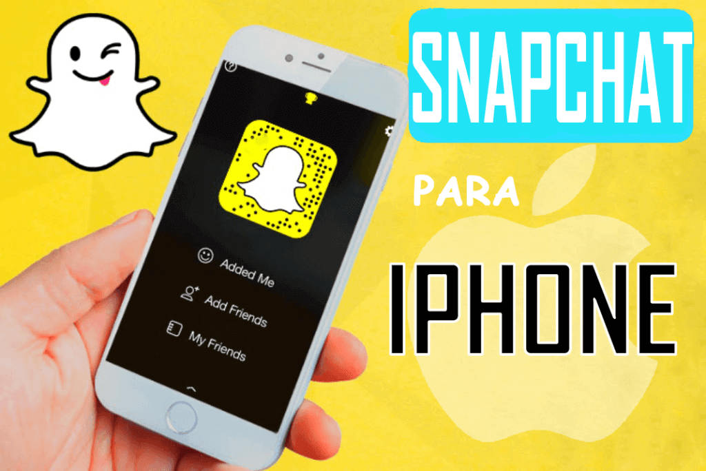 Snapchat para iphone imagen