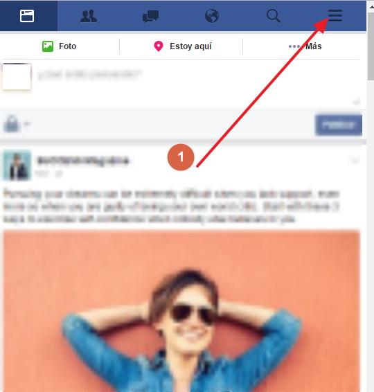 cerrar facebook en android o iphone