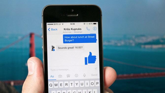 Cómo marcar mensajes de Messenger como no leídos