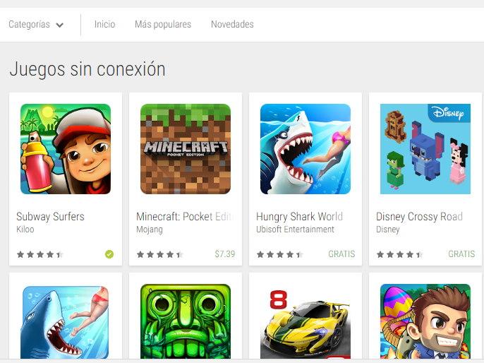 Conoce Algunos Juegos Sin Internet En Android Info Novedad