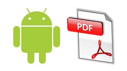 Cómo se pueden abrir PDF en Android
