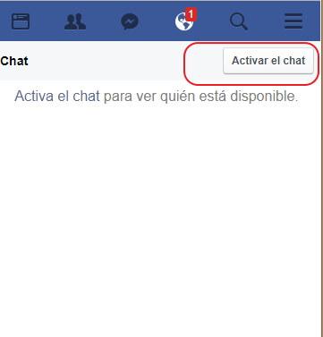 activos en facebook
