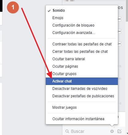 contactarse a facebook