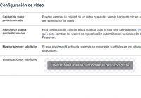 quitar la reproducción automática de videos en Facebook