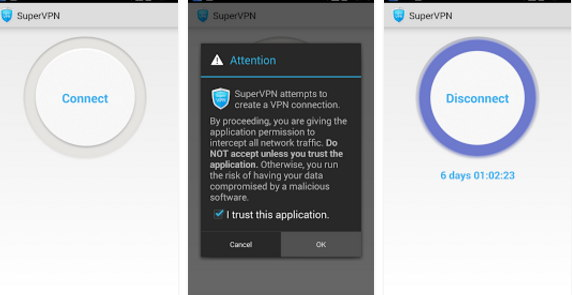 Super vpn free Android