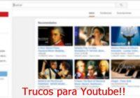 trucos youtube