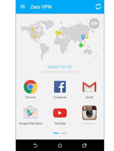 zero vpn Android