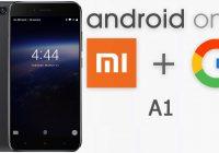Xiaomi A1 imagenes