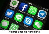 Las mejores apps de mensajeria