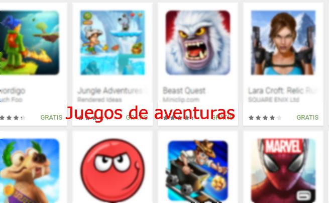 juegos de aventuras