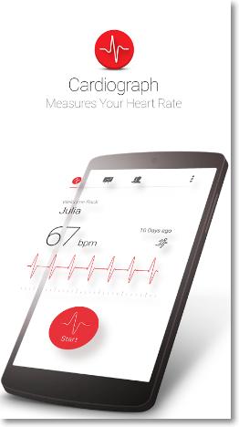 medir frecuencia cardíaca android