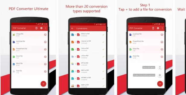 convert xml to pdf in android