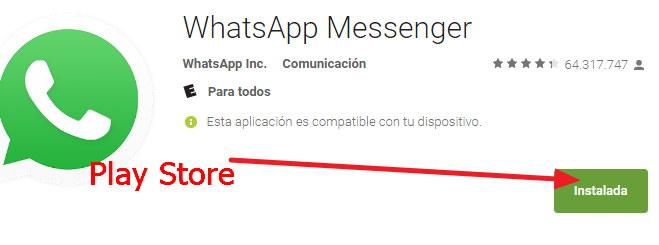 Asi se instala whatsapp paso a paso