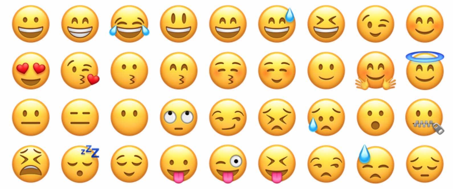 como se escribre Emoji o emogi