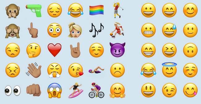 teclado con emojis