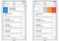 Imagen Outlook para iPhone