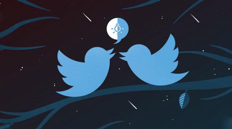 modo nocturno twitter