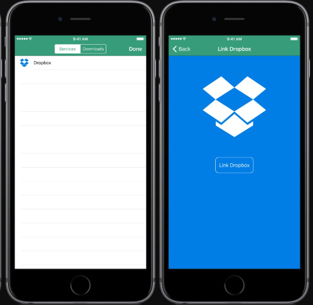 Dropbox para iphone descargar